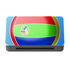 Balloon Volleyball Ball Sport Memory Card Reader with CF