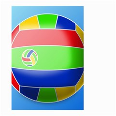 Balloon Volleyball Ball Sport Small Garden Flag (Two Sides)