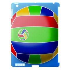 Balloon Volleyball Ball Sport Apple Ipad 3/4 Hardshell Case (compatible With Smart Cover)