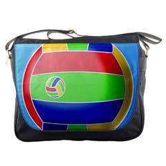 Balloon Volleyball Ball Sport Messenger Bags