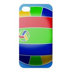 Balloon Volleyball Ball Sport Apple Iphone 4/4s Premium Hardshell Case