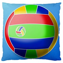 Balloon Volleyball Ball Sport Large Cushion Case (one Side)