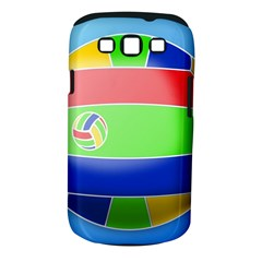Balloon Volleyball Ball Sport Samsung Galaxy S Iii Classic Hardshell Case (pc+silicone)