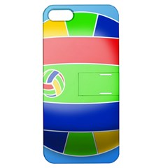 Balloon Volleyball Ball Sport Apple Iphone 5 Hardshell Case With Stand