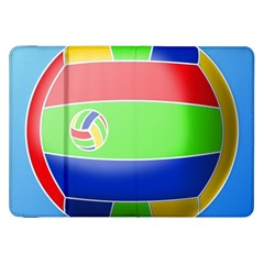 Balloon Volleyball Ball Sport Samsung Galaxy Tab 8.9  P7300 Flip Case