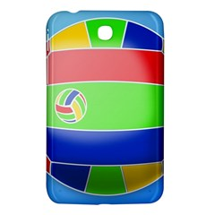 Balloon Volleyball Ball Sport Samsung Galaxy Tab 3 (7 ) P3200 Hardshell Case