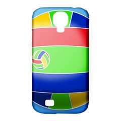 Balloon Volleyball Ball Sport Samsung Galaxy S4 Classic Hardshell Case (pc+silicone)