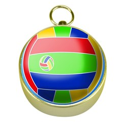 Balloon Volleyball Ball Sport Gold Compasses