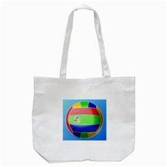Balloon Volleyball Ball Sport Tote Bag (white)