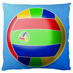 Balloon Volleyball Ball Sport Standard Flano Cushion Case (Two Sides)