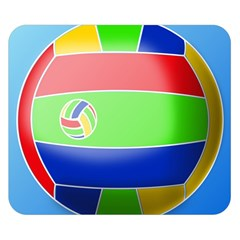 Balloon Volleyball Ball Sport Double Sided Flano Blanket (Small)