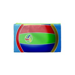 Balloon Volleyball Ball Sport Cosmetic Bag (XS)