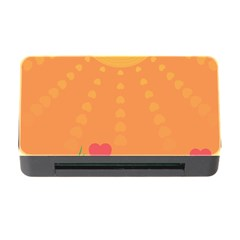 Love Heart Valentine Sun Flowers Memory Card Reader with CF
