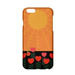 Love Heart Valentine Sun Flowers Apple Iphone 6/6s Hardshell Case