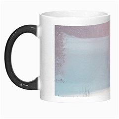 Winter Day Pink Mood Cottages Morph Mugs