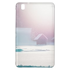 Winter Day Pink Mood Cottages Samsung Galaxy Tab Pro 8 4 Hardshell Case
