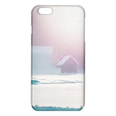 Winter Day Pink Mood Cottages iPhone 6 Plus/6S Plus TPU Case