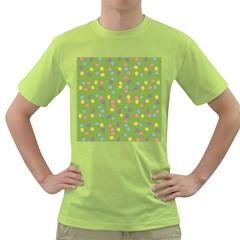 Balloon Grass Party Green Purple Green T-Shirt