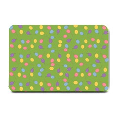 Balloon Grass Party Green Purple Small Doormat