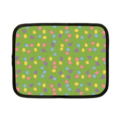 Balloon Grass Party Green Purple Netbook Case (Small)