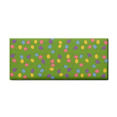 Balloon Grass Party Green Purple Cosmetic Storage Cases
