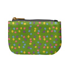 Balloon Grass Party Green Purple Mini Coin Purses