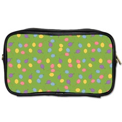 Balloon Grass Party Green Purple Toiletries Bags 2-Side