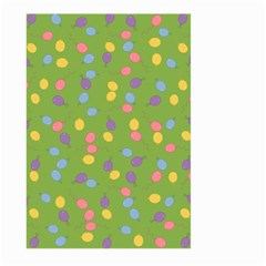 Balloon Grass Party Green Purple Large Garden Flag (two Sides)
