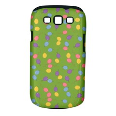 Balloon Grass Party Green Purple Samsung Galaxy S Iii Classic Hardshell Case (pc+silicone)
