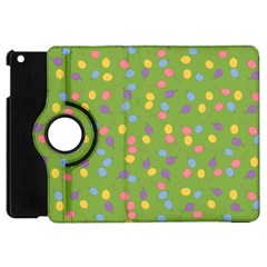 Balloon Grass Party Green Purple Apple Ipad Mini Flip 360 Case