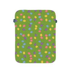 Balloon Grass Party Green Purple Apple Ipad 2/3/4 Protective Soft Cases