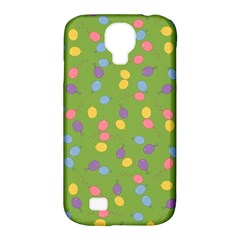 Balloon Grass Party Green Purple Samsung Galaxy S4 Classic Hardshell Case (pc+silicone)