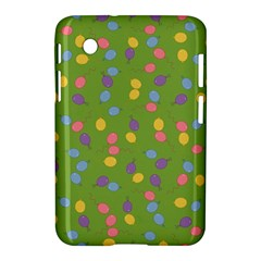 Balloon Grass Party Green Purple Samsung Galaxy Tab 2 (7 ) P3100 Hardshell Case