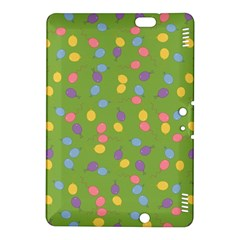 Balloon Grass Party Green Purple Kindle Fire Hdx 8 9  Hardshell Case
