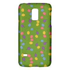Balloon Grass Party Green Purple Galaxy S5 Mini