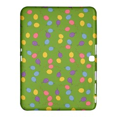 Balloon Grass Party Green Purple Samsung Galaxy Tab 4 (10 1 ) Hardshell Case