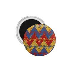 Aztec South American Pattern Zig Zag 1.75  Magnets