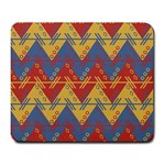 Aztec South American Pattern Zig Zag Large Mousepads Front