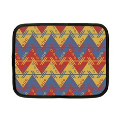 Aztec South American Pattern Zig Zag Netbook Case (small)