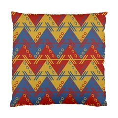 Aztec South American Pattern Zig Zag Standard Cushion Case (Two Sides)