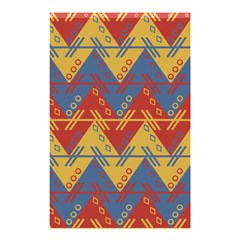 Aztec South American Pattern Zig Zag Shower Curtain 48  x 72  (Small)