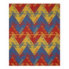 Aztec South American Pattern Zig Zag Shower Curtain 60  x 72  (Medium)