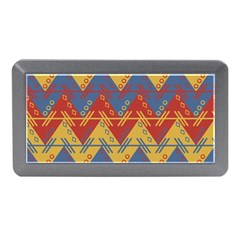 Aztec South American Pattern Zig Zag Memory Card Reader (mini)