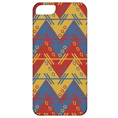 Aztec South American Pattern Zig Zag Apple Iphone 5 Classic Hardshell Case