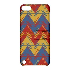 Aztec South American Pattern Zig Zag Apple Ipod Touch 5 Hardshell Case With Stand