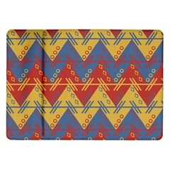 Aztec South American Pattern Zig Zag Samsung Galaxy Tab 10.1  P7500 Flip Case