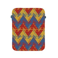Aztec South American Pattern Zig Zag Apple iPad 2/3/4 Protective Soft Cases