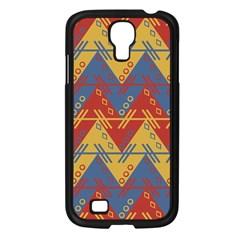 Aztec South American Pattern Zig Zag Samsung Galaxy S4 I9500/ I9505 Case (black)