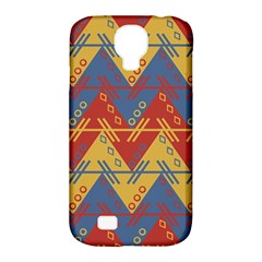Aztec South American Pattern Zig Zag Samsung Galaxy S4 Classic Hardshell Case (pc+silicone)