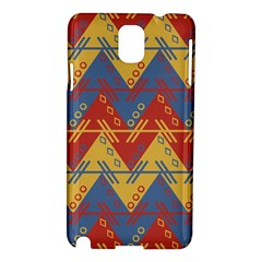 Aztec South American Pattern Zig Zag Samsung Galaxy Note 3 N9005 Hardshell Case